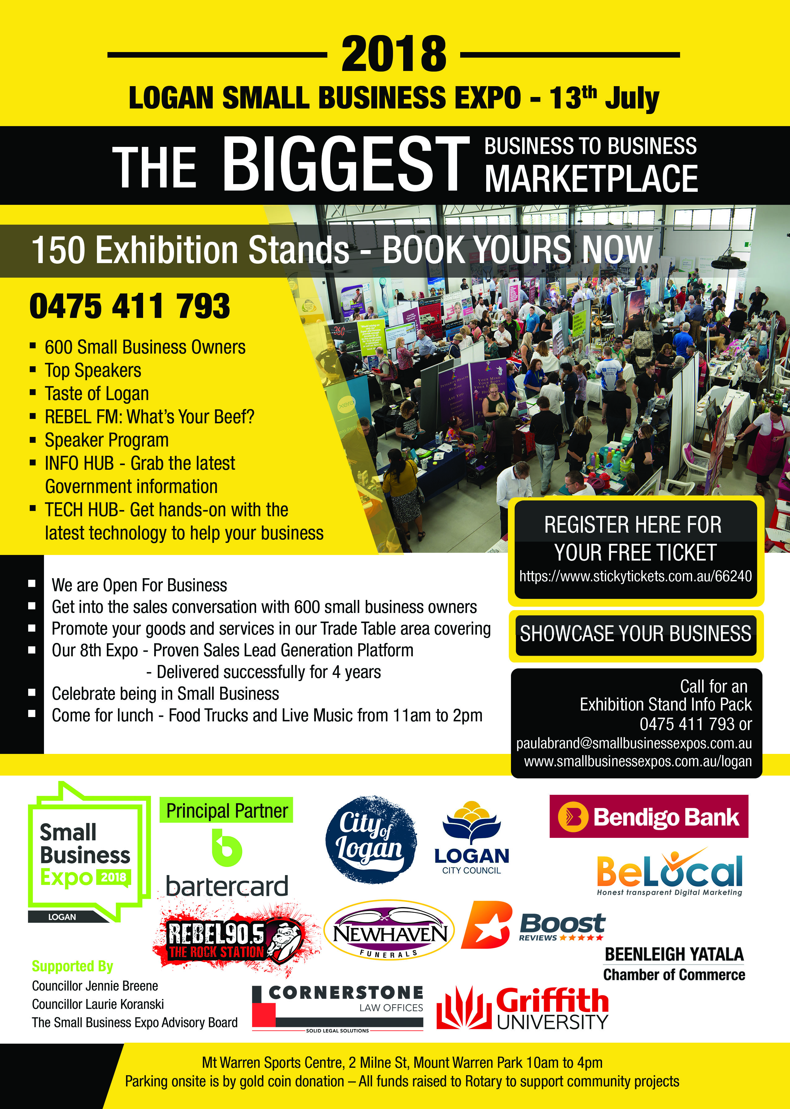 Business Expos | Brisbane | Gold Coast | Small Business Expos | A4 Flyer Jpg To Email Out Low Res
