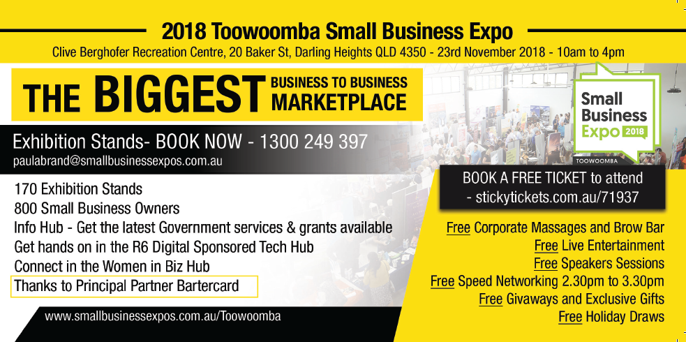Toowoomba small business expo business expos brisbane gold coast small business expos toowoomba small business expo reheart Choice Image