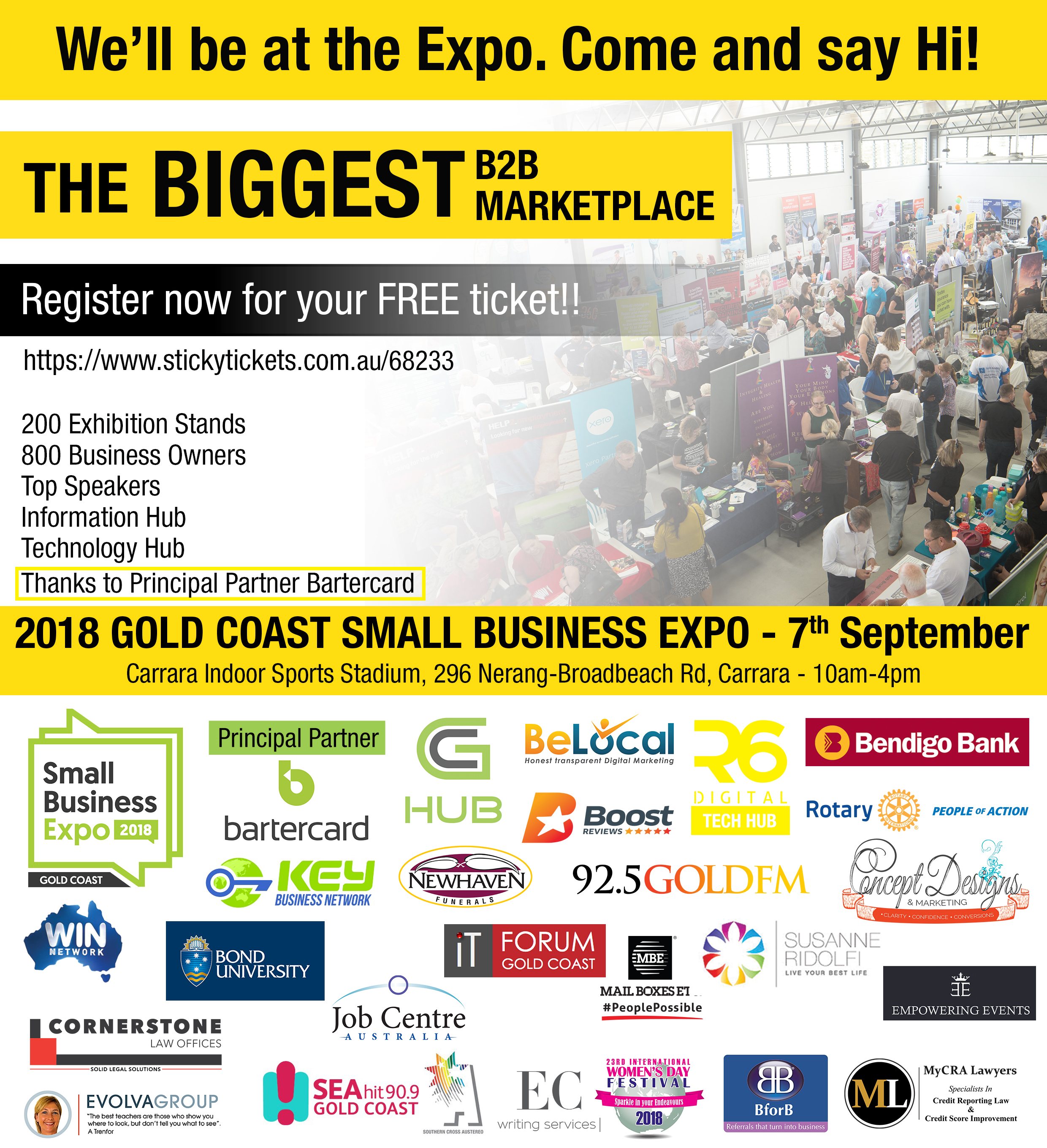 Business Expos | Brisbane | Gold Coast | Small Business Expos | We'll Be There V2.0