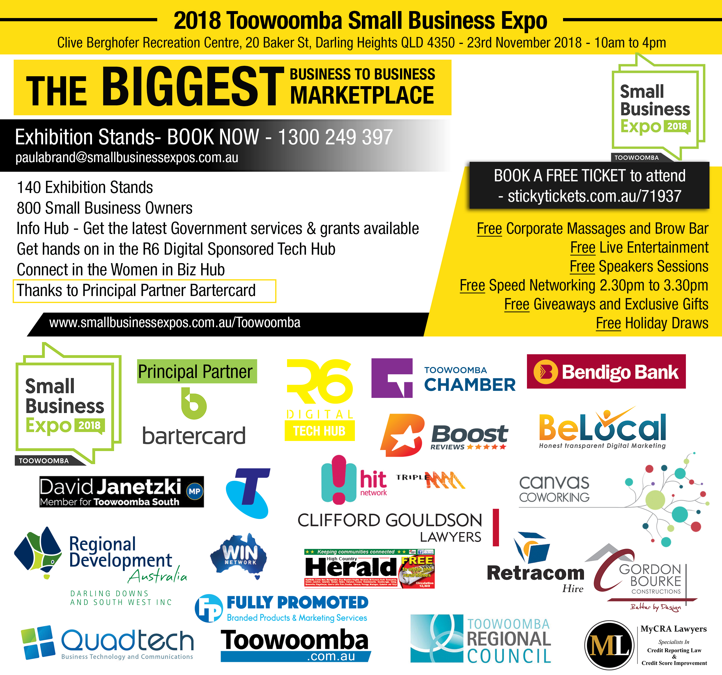 Business Expos | Brisbane | Gold Coast | Small Business Expos | Toowoomba We'll Be There (004)