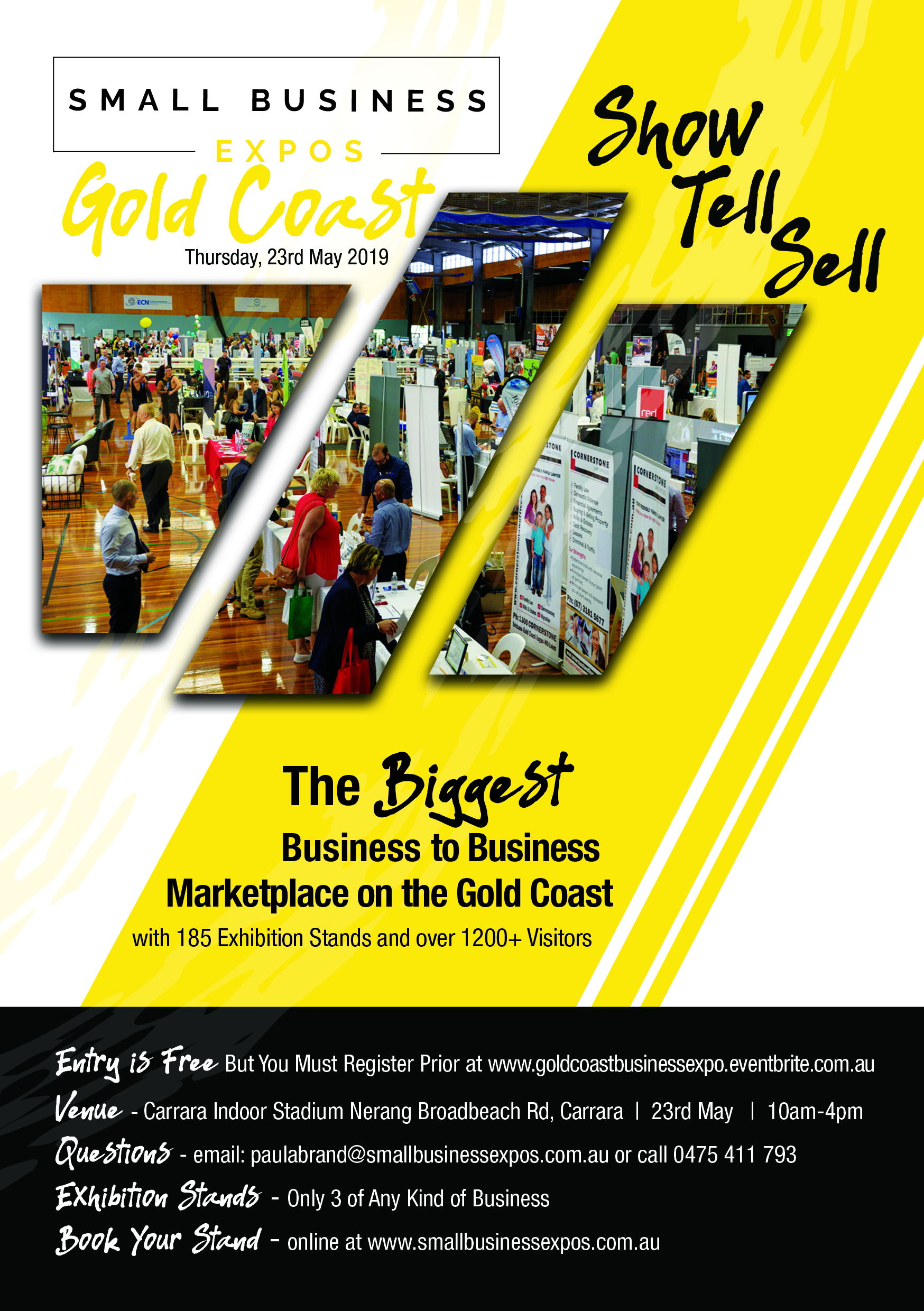 Business Expos   Brisbane   Gold Coast   Small Business Expos   Gc A5 Flyer Front