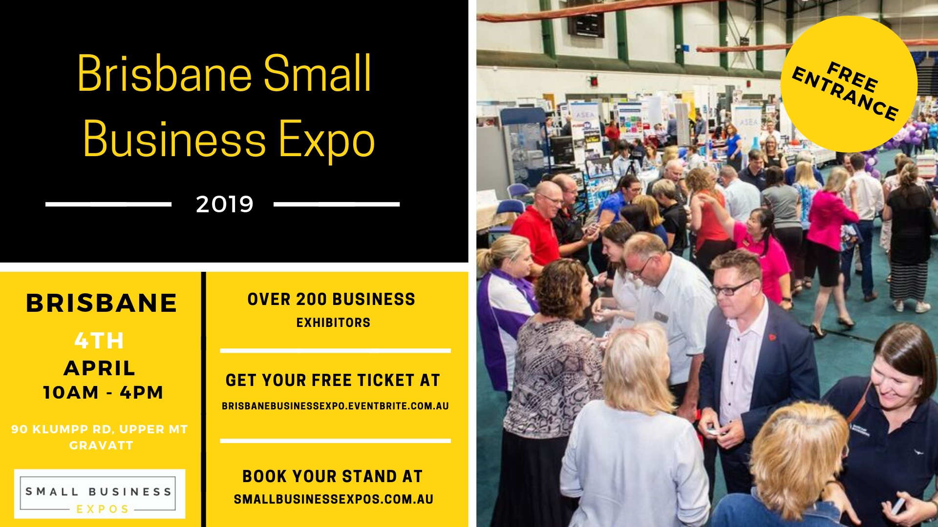 Business Expos | Brisbane | Gold Coast | Small Business Expos | Brisbane Expo Facebook Event