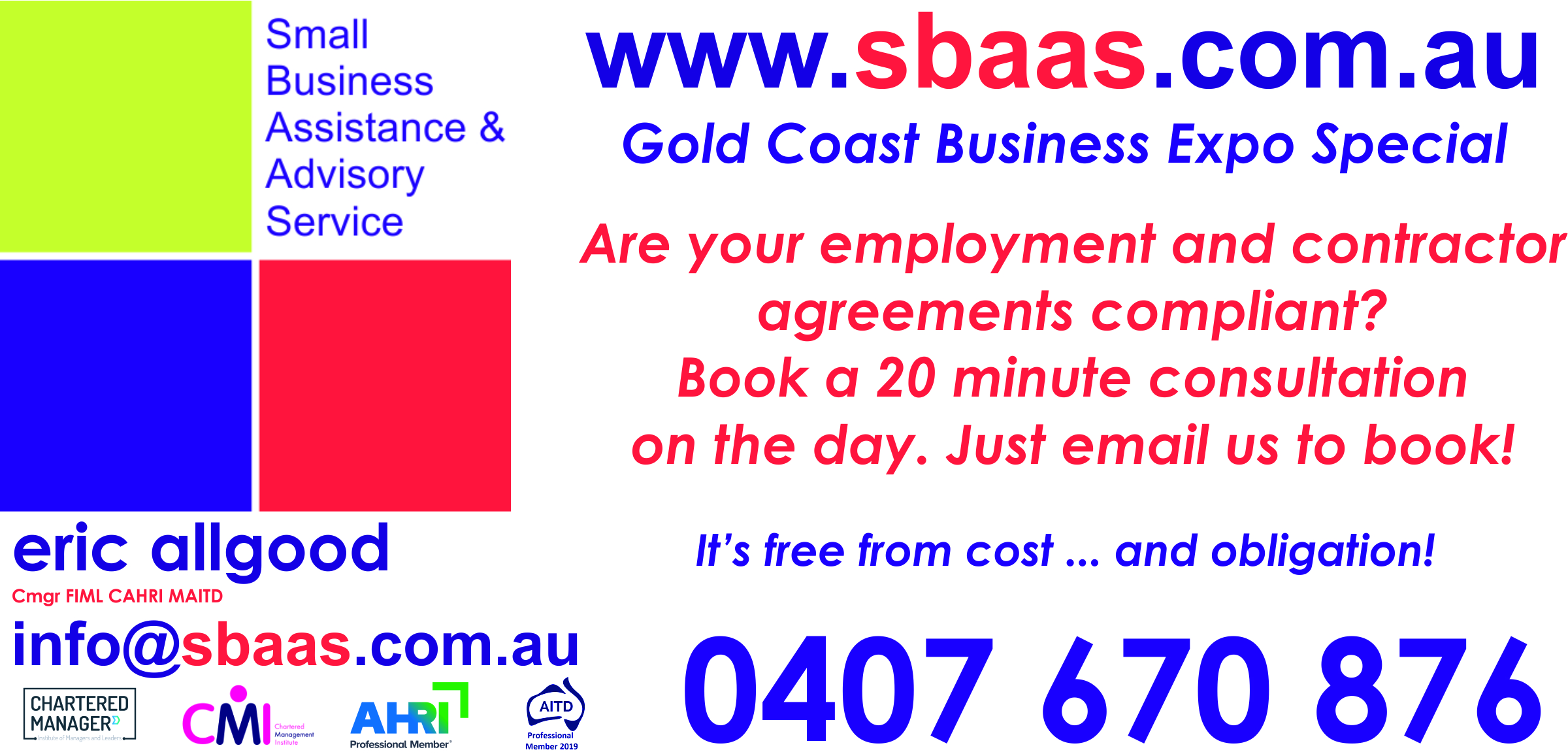 Business Expos | Brisbane | Gold Coast | Small Business Expos | Dl Flyer Bexpos 3