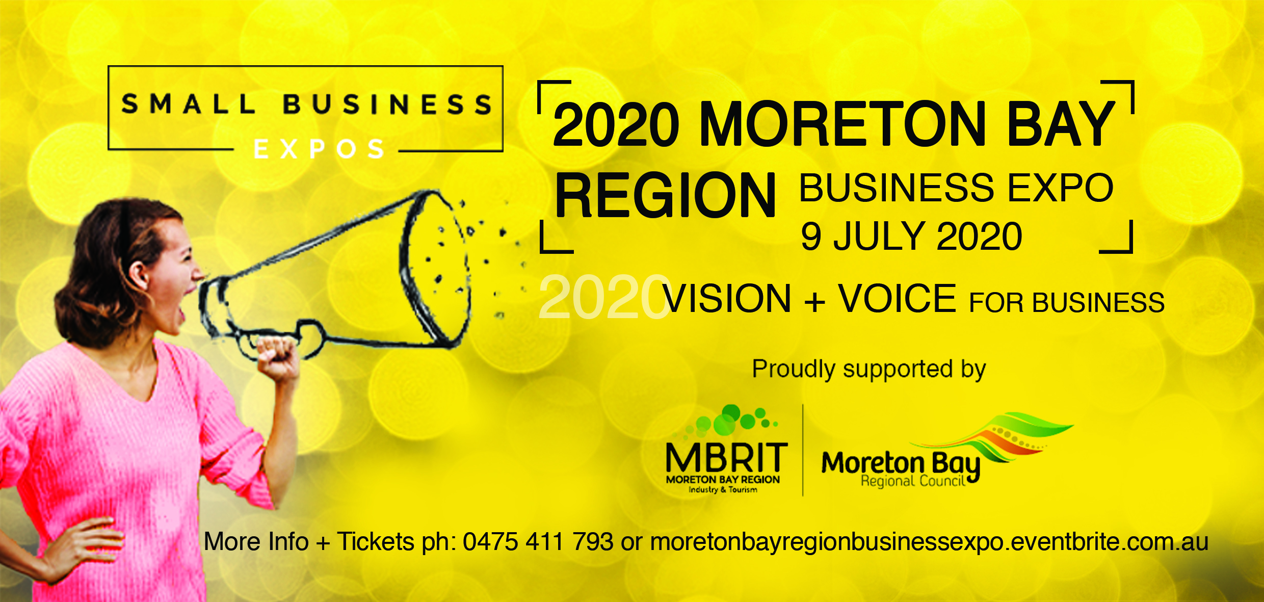 Business Expos | Brisbane | Gold Coast | Small Business Expos | Moreton Bay 2020 Dl Flyer