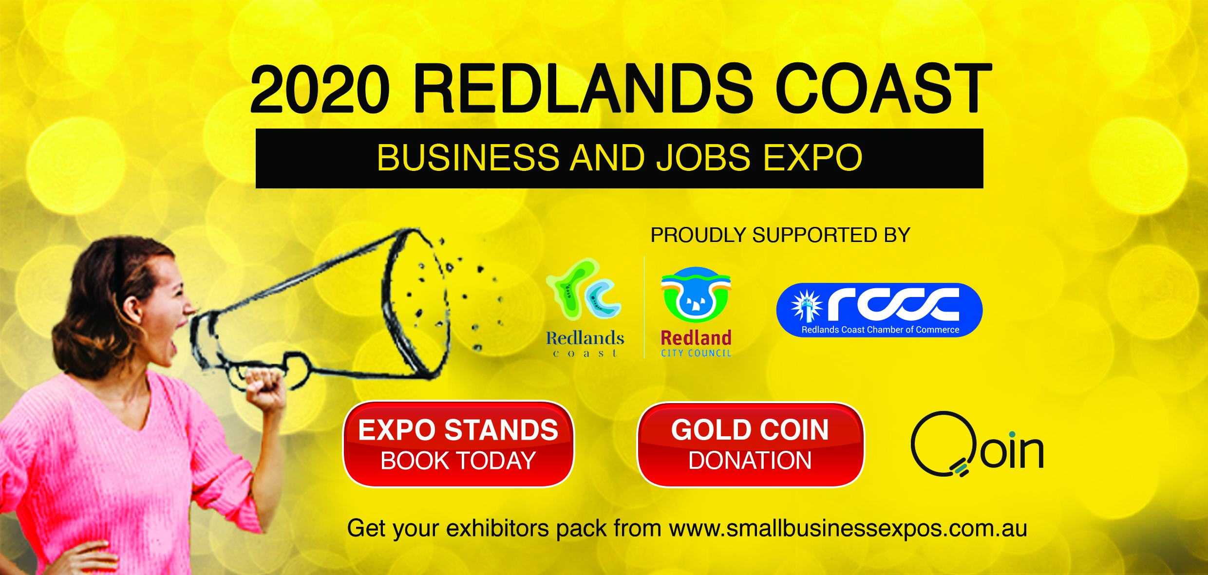 Business Expos | Brisbane | Gold Coast | Small Business Expos | Redlands Coast 2020 Dl Flyer Qoin Version (1)